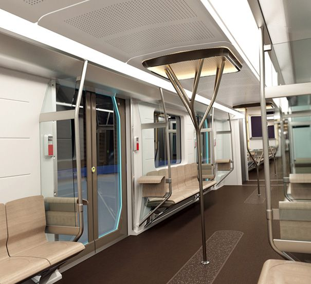The Siemens group commissioned BWM's subsidiary Designworks USA to develop a sprawling metro railway for Los Angeles, Munich and Singapore.