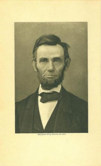 Photogravure President Abraham Lincoln