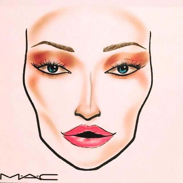 MAC Flamingo Park inspired facechart