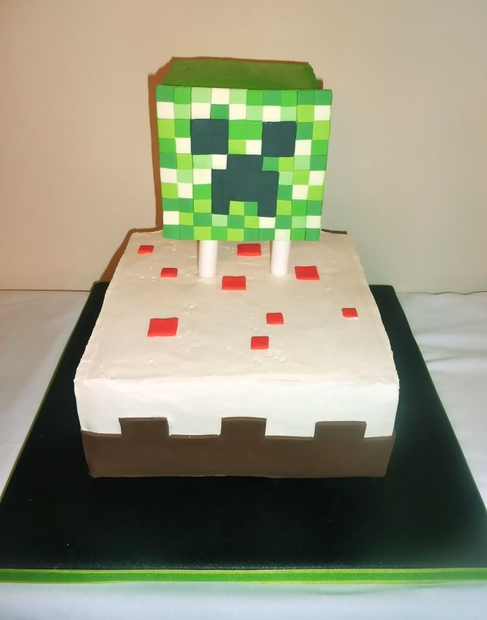 Minecraft Cake Decorations Uk : The 25+ best ideas about Creeper Cake on Pinterest ...