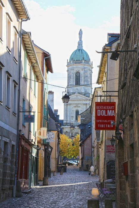 Rennes Cityguide - best vegetarian restaurants, Crepes/Galettes and sightseeing