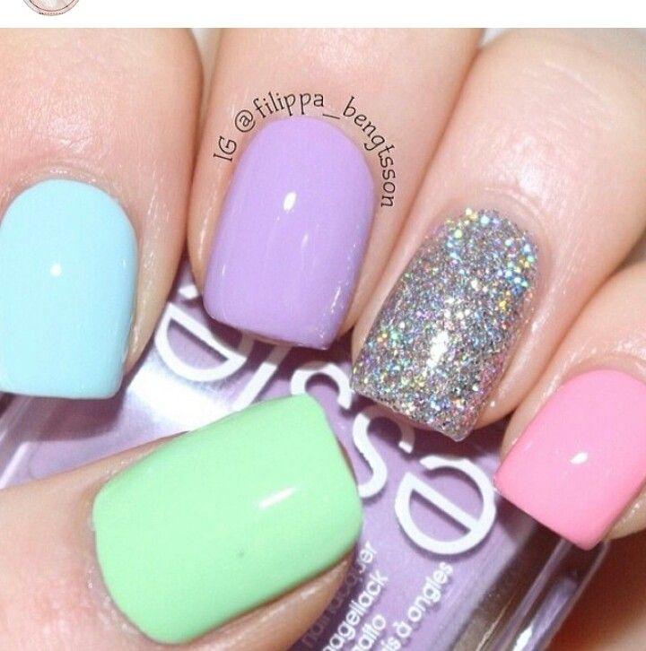 Best 25+ Pastel Nails Ideas On Pinterest