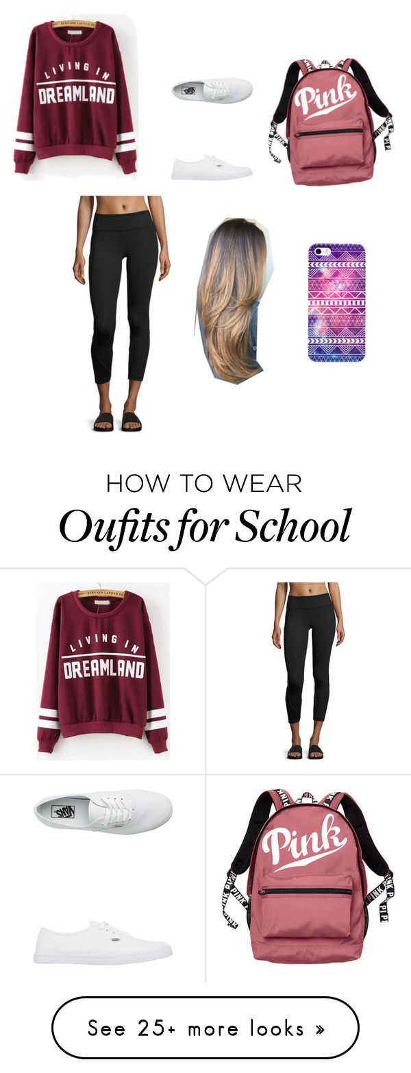 """School sucks"" by dancer0202 on Polyvore featuring Vimmia, Vans and Victoria's Secret"