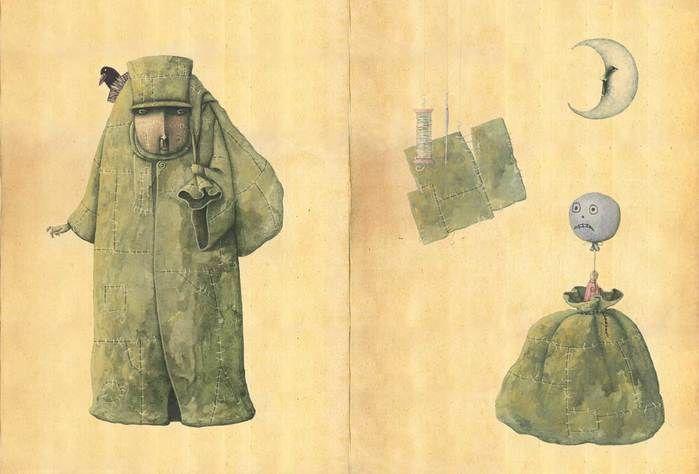 """Miguel Ángel Díez, """"El Hombre del Saco""""."""
