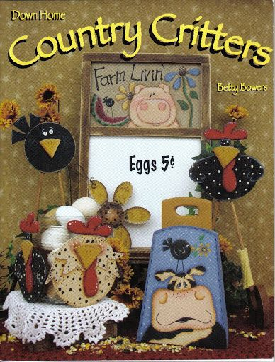 down home country critters - monica garcia - Picasa Web Albums...FREE BOOK!