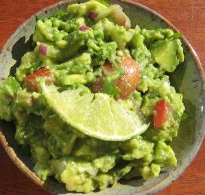 La recette d'un guacamole maison