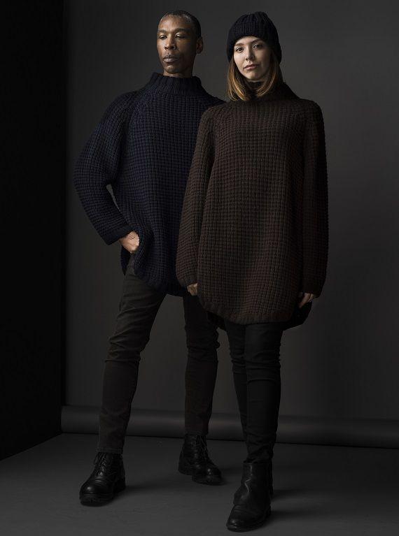 HANIA by Anya Cole Midora Sweater Fall/Winter 2015