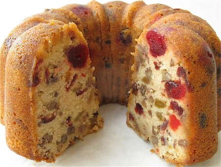 Fruit-full Cake | Flourish - from King Arthur Flour ..... close to being a fruitcake without the cloy gooey-ness of candied fruit.