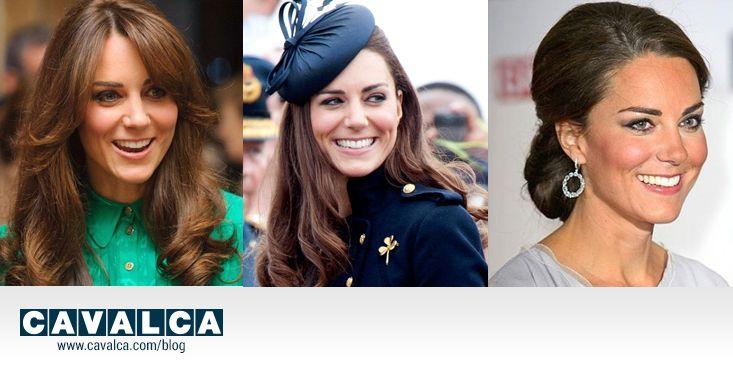Mi vesto come...Kate Middleton. Capelli sciolti con morbidi boccoli, mezzo raccolto e cappellino, un sofisticato raccolto basso: lo stile di  #kate è sempre impeccabile! #cavalca #hair #acconciature  http://www.cavalca.com/blog-moda/mi-vesto-come-kate-middleton/