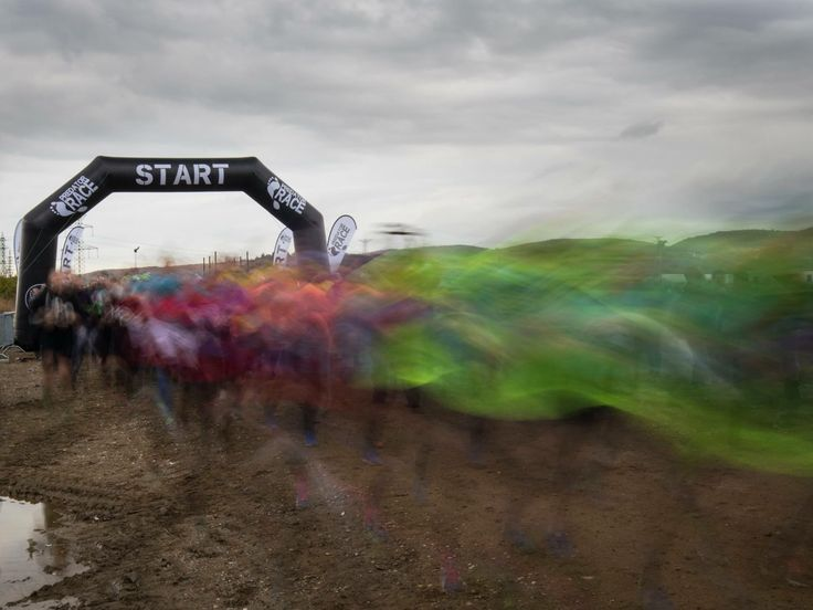 You wil meet at the start. PredatorRace. Extreme obstacle run.