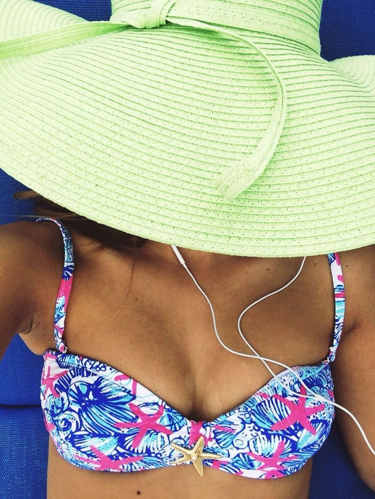 preppy by the pool