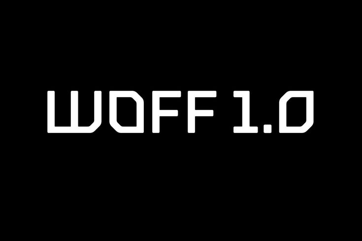 WOFF File Format 1.0, World Wide Web Consortium  Authors: Jonathan Kew, Tal Leming, Erik van Blokland