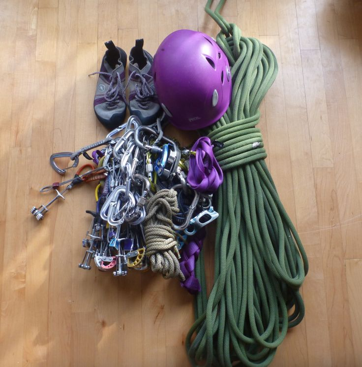 A comprehensive top rope climbing gear list covering the essential climbing gear a climber will need for top rope climbing outdoors.