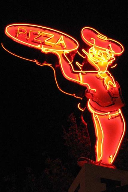 Imo's Pizza Neon Sign....St. Louis, Missouri