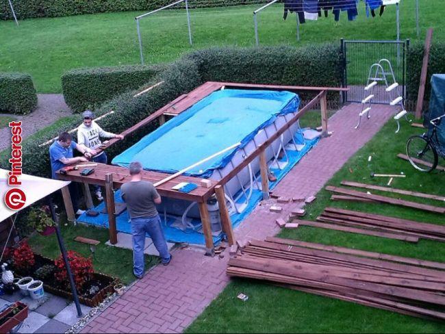 Pool Podest Selber Bauen Treppe Selber Bauen Pool Treppe