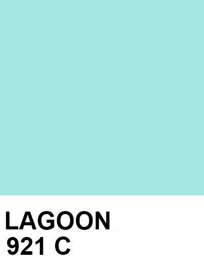 LAGOON: #A5E8E1 921 C