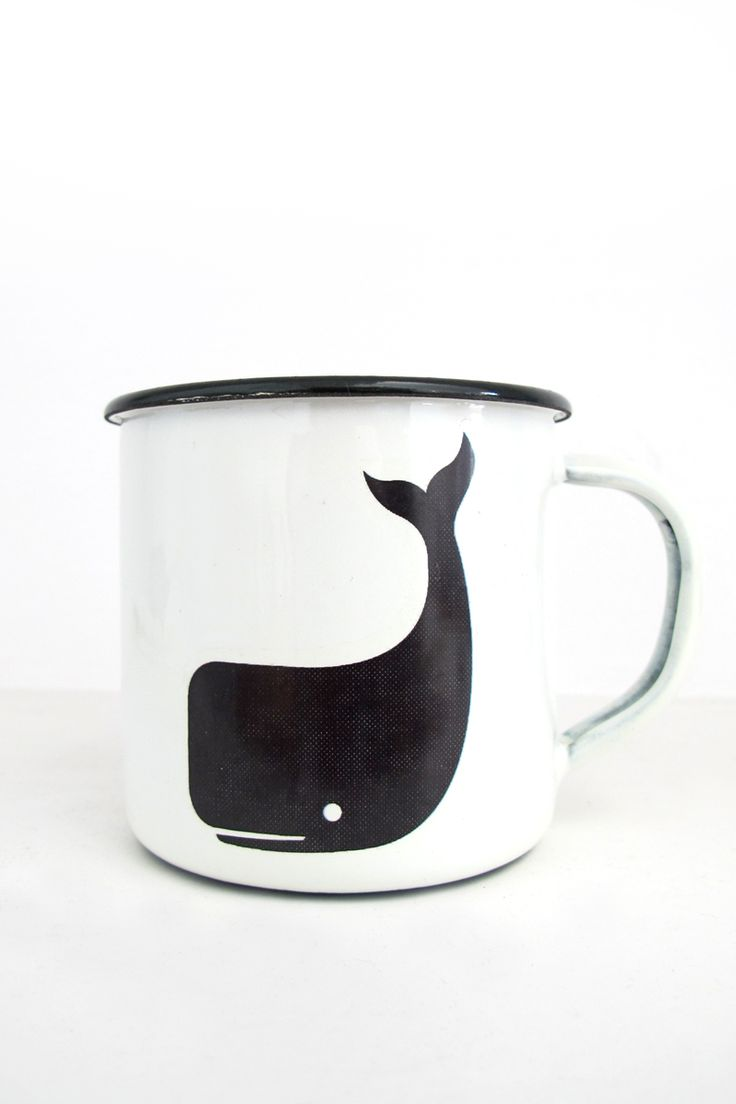 Personalized coffee mugs raleigh nc - Steel Mug Whale Twothirds