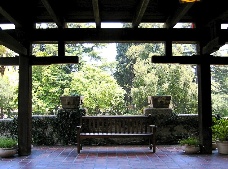 Gamble House porch