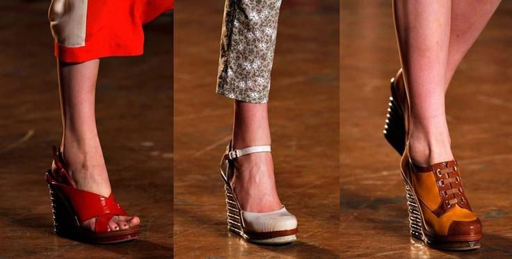 Plataformas, voveran a los zapatos