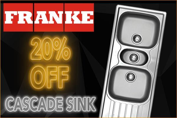 Get the matching Cascade sink to match the Mixer @ 20% off. https://www.livecopper.co.za/…/franke-cascade-kitchen-sink-… #blackfriday #bfcm #fridayonly #blackfridayonline #blackfridaydeals #cybermonday #livecopper #mixers #bathroom #kitchen #franke #sinks #basins
