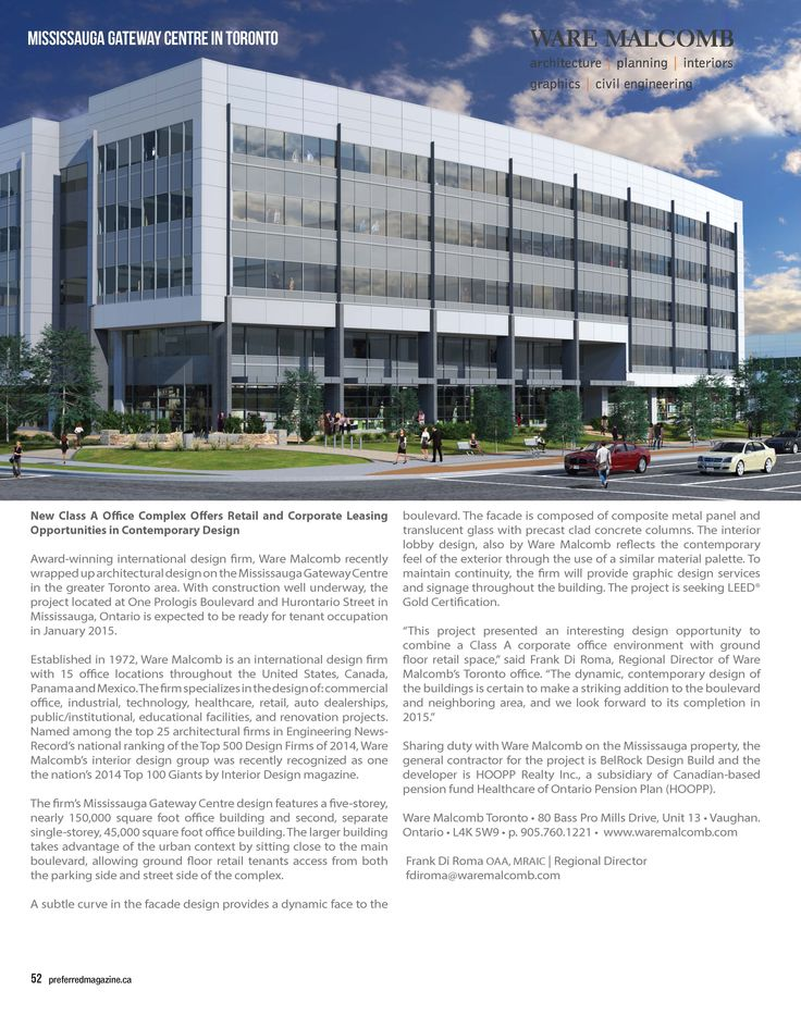 Ware Toronto office project, Mississauga
