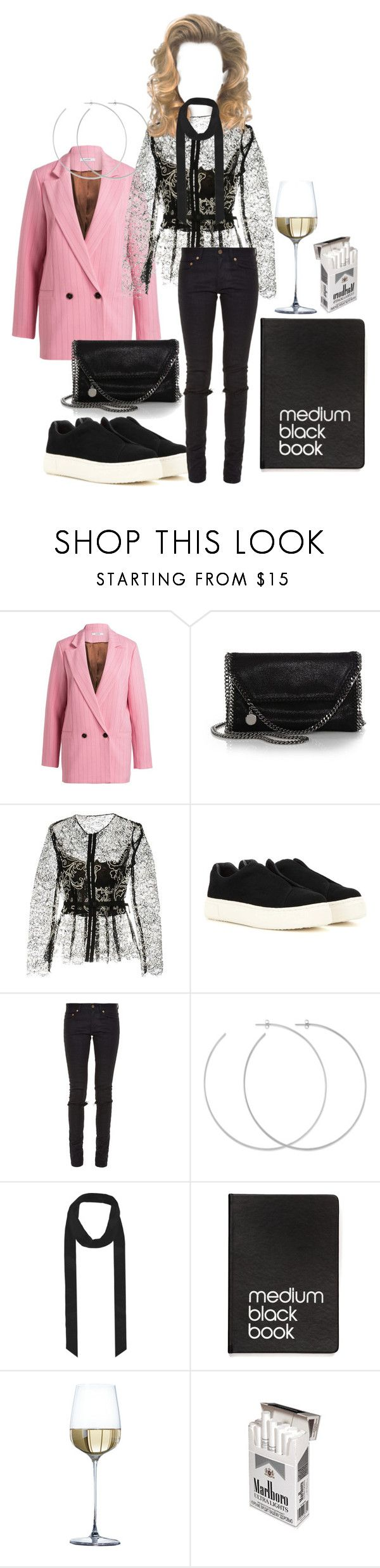 """Untitled #225"" by fashiondisguise on Polyvore featuring STELLA McCARTNEY, Oscar de la Renta, Eytys, Yves Saint Laurent, Allison Bryan and Dinks"