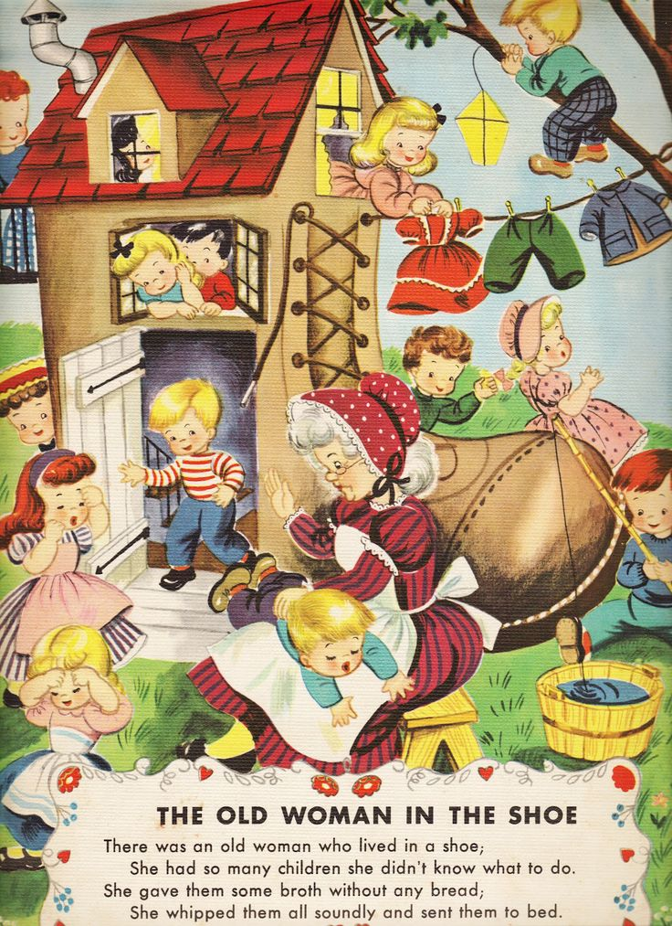 mother goose illustrations | Two Crazy Crafters: Vintage Mother Goose Illustrations