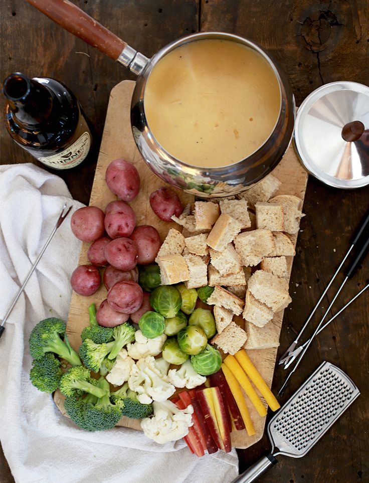 Irish Beer Cheese Fondue (The Merrythought) | Patrick o ...