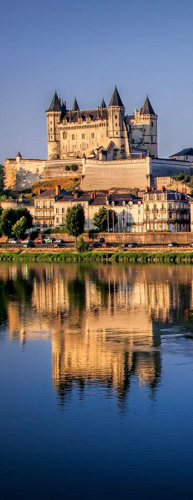Château de Saumur, Maine-et-Loire, France GPS: 47.257047, -0.072370 - https://en.wikipedia.org/wiki/Ch%C3%A2teau_de_Saumur