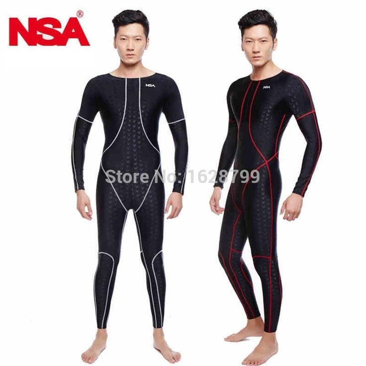 49.90$  Watch now - http://alitqx.worldwells.pw/go.php?t=32266309628 - NSA unique design full body lycra swimwear sharkskin waterproof mens rash buard swimming wetsuits diving suits