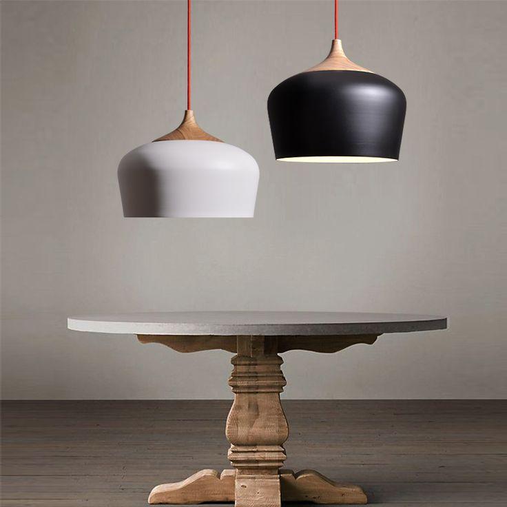 Goedkope scandinavische minimalistische tafellamp modern minimalistisch dining koffie hal slaapkamer kroonluchter gepersonaliseerde restaurant bar, koop Kwaliteit hanglampen rechtstreeks van Leveranciers van China: