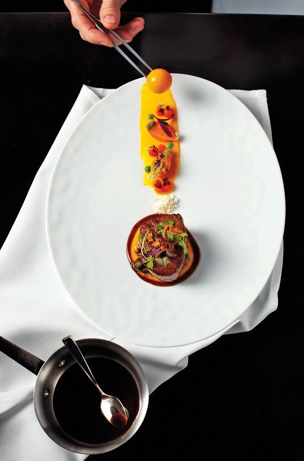 A sophisticated beverage program complements the seasonal fare at 2 Sparrows. - Anthony Tahlier