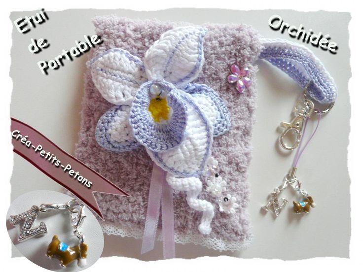 Orchid e crochet patron gratuit modele orchidee crochet - Bijoux au crochet modele gratuit ...