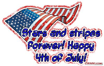 4TH OF JULY Clipart | Cut & Paste 4th of July graphics code below to your profile or website