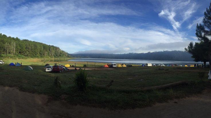 Yoga & Camping at Buyan Lake.