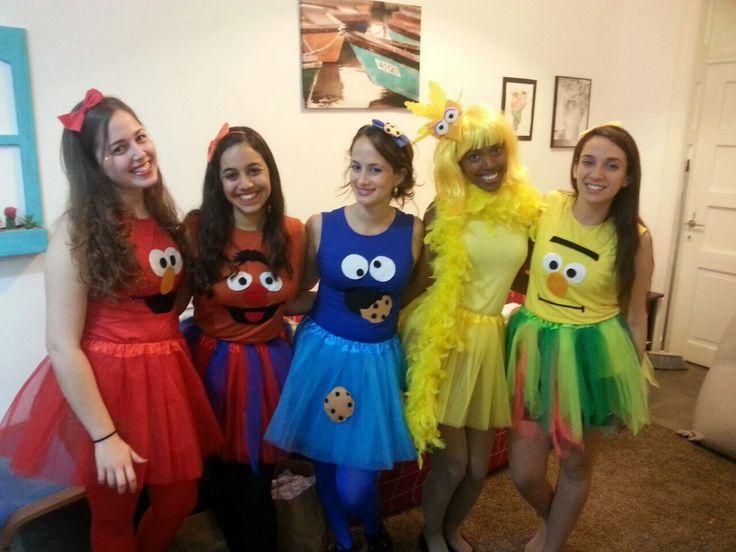 Sesame street costume                                                                                                                                                                                 More