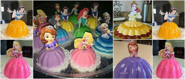 Aprende Cómo Hacer Gelatina De Princesas Para Fiestas Infantiles Lodijoella Gelatinas De Princesas Gelatinas Infantiles Fiestas Gelatinas Infantiles