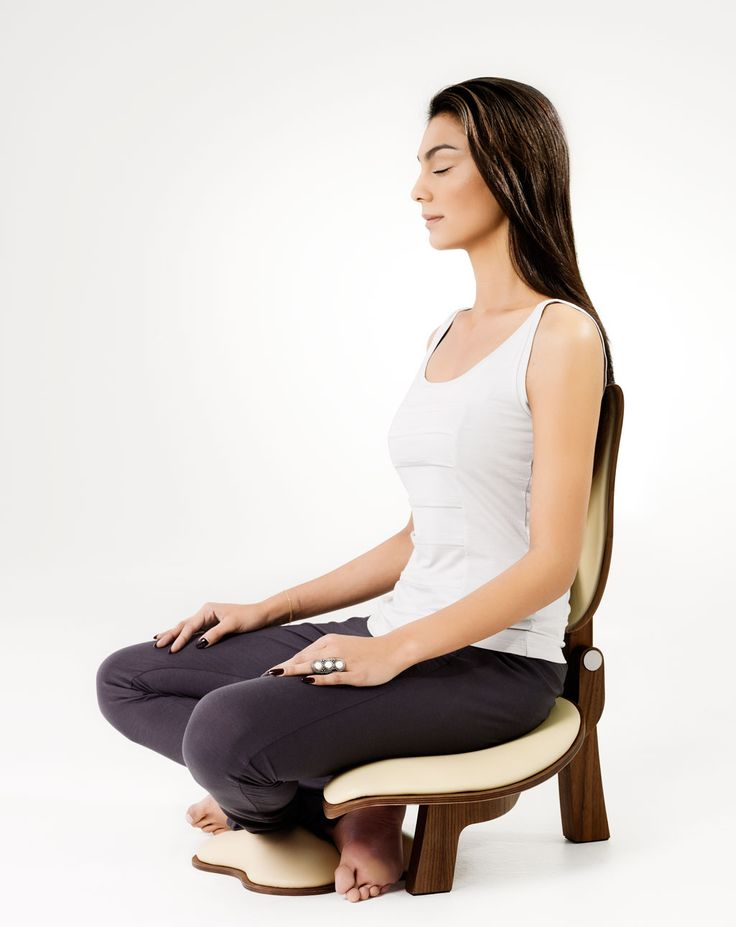 Basho Meditation Chair Walnut