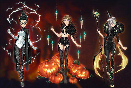 Evento Halloween 2017 ~ Eldarya Solution