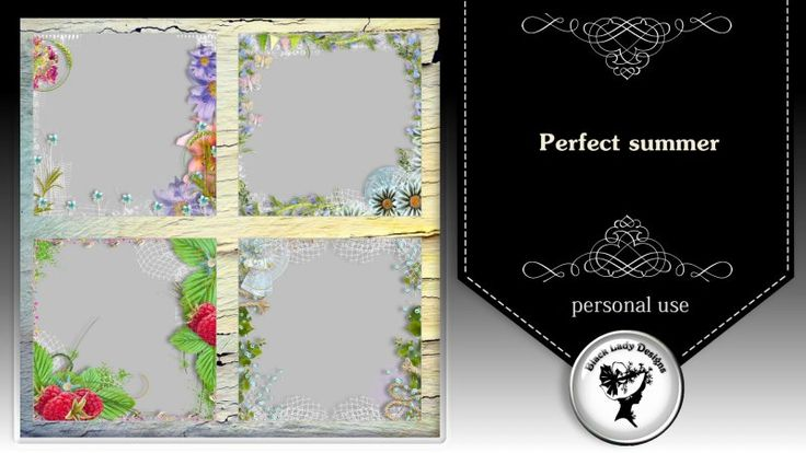 Perfect summer - overlays by Black Lady Designs