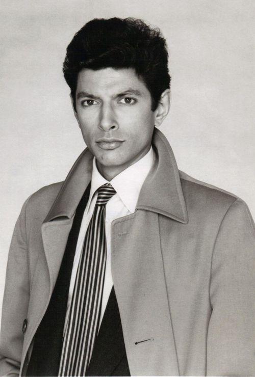 A very young and pruned Jeff Goldblum, circa 1980