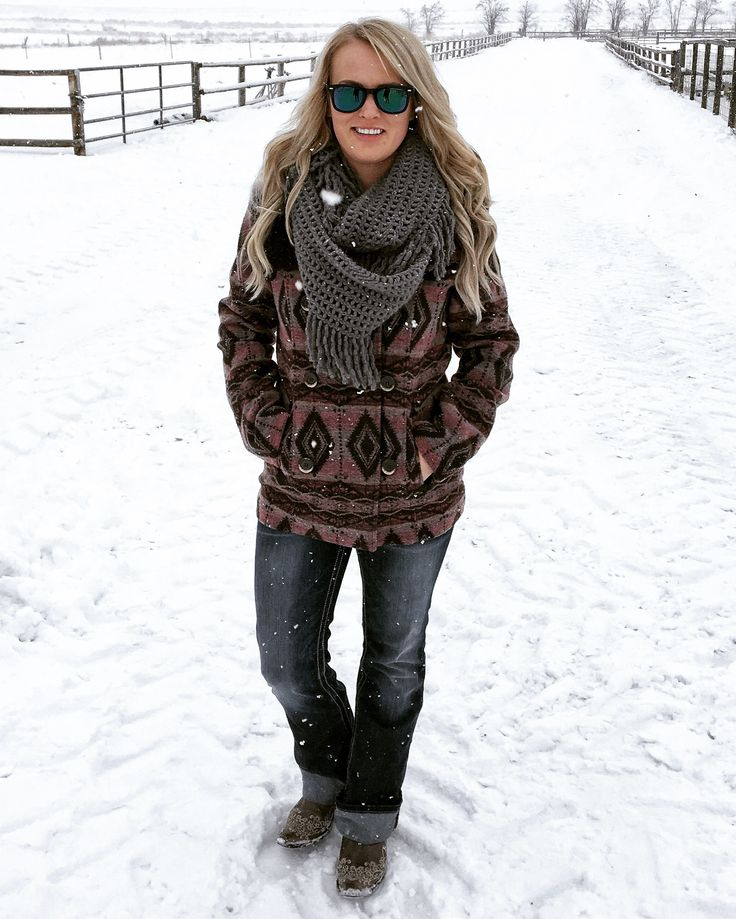 Powder River Outfitters Annie Aztec Wool Jacket | Rock and Roll Denim | Western Chic