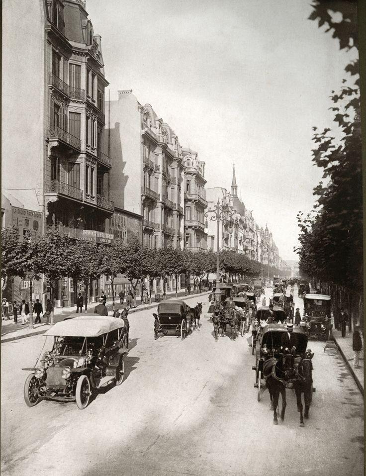 Avenida de Mayo, 1920.