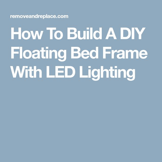 how to build a floating frame