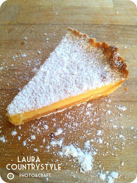 Country style: Oggi cucino io: Crostata limone e vaniglia