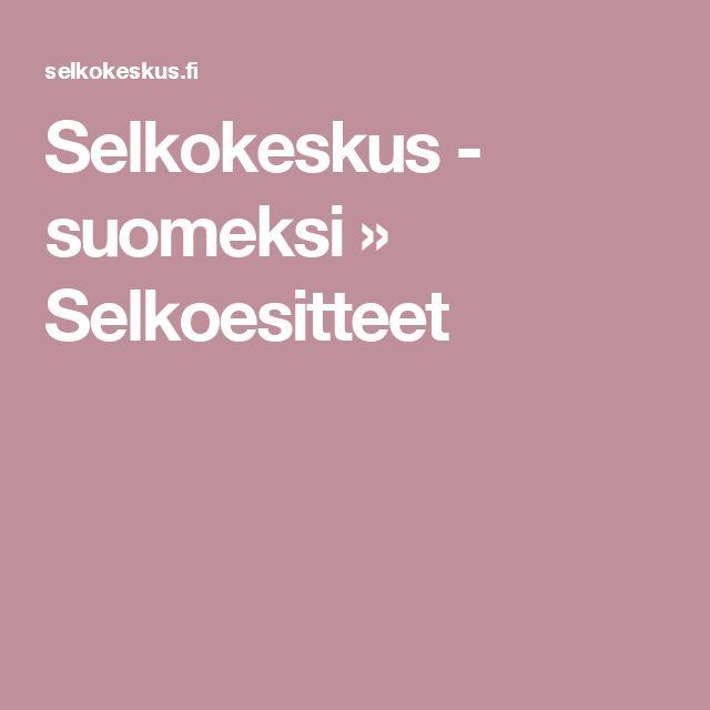 Selkokeskus - suomeksi » Selkoesitteet