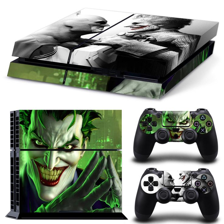 Joker and Batman Decal for PS4 //Price: $12.99 & FREE Shipping //     #hashtag1