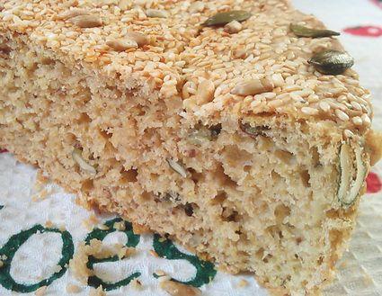 Domaći zdrav hleb i posna pogača od integralnog brašna sa semenkama i 4 vrste žitarica za decu i odrasle