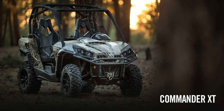 New 2017 Can-Am Commander™ XT™ 800R ATVs For Sale in Iowa. BE PREPARED FOR ANY TYPE OF RIDING Loaded with features and technology that take value to a new level, the Commander XT is built with best-in-class power, a versatile dual-level cargo box, and rider-focused features perfect for the job site or the trails.