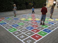 78 best images about nieuw schoolplein on pinterest playground design ladder and water play - Corridor schilderen ...